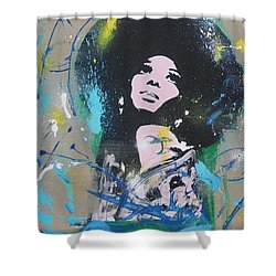 Eletric Ross Shower Curtain