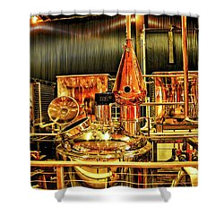 Elevated Mountain Distillery Shower Curtain
