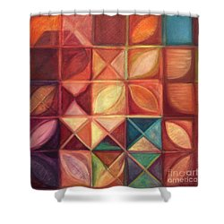 Elevating The Spirit - Finding Heart Shower Curtain