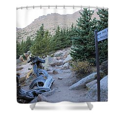 Elevation 11,500 Shower Curtain