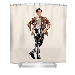 Eleventh Doctor - Doctor Who Shower Curtain