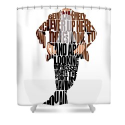 Eleventh Doctor   Doctor Who Shower Curtain