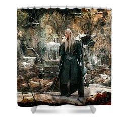 Elf King Thranduil  Shower Curtain