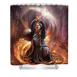 Elf Mage Shower Curtain