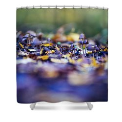 Elfin World Shower Curtain
