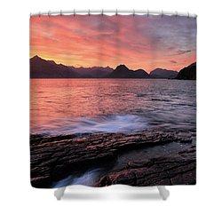 Elgol Sunset - Isle Of Skye 2 Shower Curtain