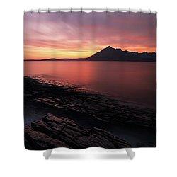 Elgol Sunset - Isle Of Skye Shower Curtain