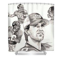 Eli Manning Shower Curtain