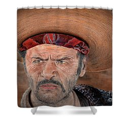Eli Wallach As Tuco In The Good The Bad And The Ugly Version II Shower Curtain