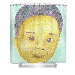 Elijah Shower Curtain