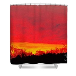 Shower Curtain featuring the photograph Elijahs Host by Christian Mattison