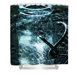 Shower Curtain featuring the photograph Elixar by Stephen Mitchell