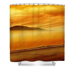 Elixir Of Life Shower Curtain by Holly Kempe