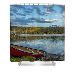 Elk Beach Memories Shower Curtain