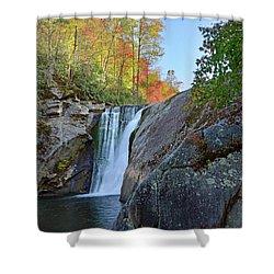 Elk River Falls Shower Curtain