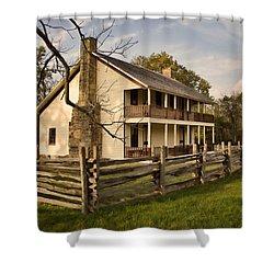Elkhorn Tavern Shower Curtain by Lana Trussell