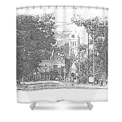 Ellaville, Ga - 1 Shower Curtain