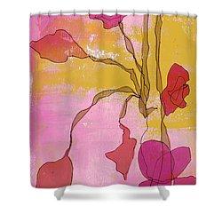 Ellen I Shower Curtain by Lisa Noneman