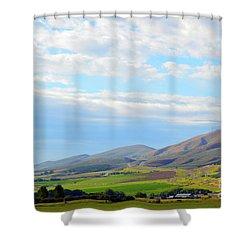 Ellensburg - Manastash Ridge Shower Curtain