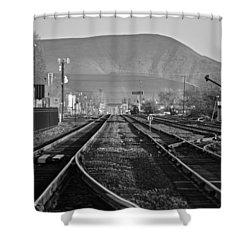 Ellensburg Station Shower Curtain
