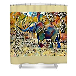 Ellie Shower Curtain
