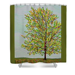 Ellie's Tree Shower Curtain