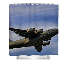 Elmendorf Third Wing Shower Curtain