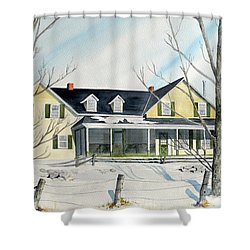 Elmridge Farm House Shower Curtain