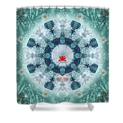 Eloquence-logo Shower Curtain