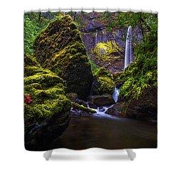 Elowah Falls Shower Curtain