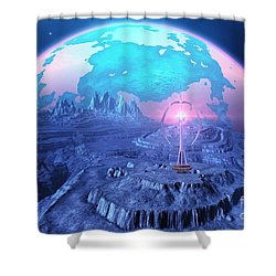 Elterra Shower Curtain by Corey Ford