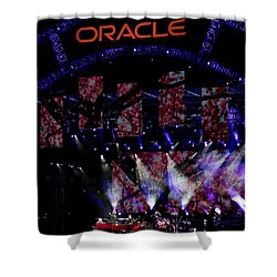 Elton John At Oracle Open World In 2015 Shower Curtain
