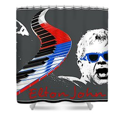 Elton John Shower Curtain