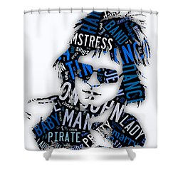 Elton John Tiny Dancer Shower Curtain
