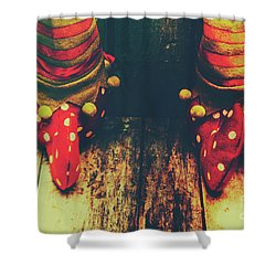 Elves And Feet Shower Curtain