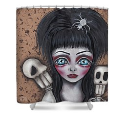 Elvira Shower Curtain by Abril Andrade Griffith