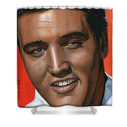 Elvis 24 1961 Shower Curtain by Rob De Vries