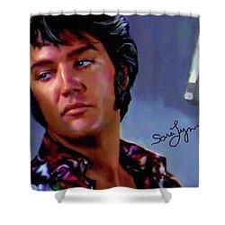 Elvis Presley Art 10 Shower Curtain