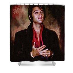 Elvis Presley Art 13 Shower Curtain