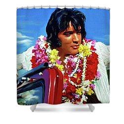 Elvis Presley Art 21 Shower Curtain
