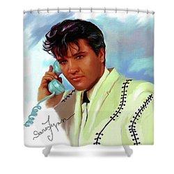 Elvis Presley Art 22 Shower Curtain