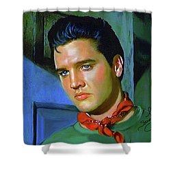 Elvis Presley Art 23 Shower Curtain