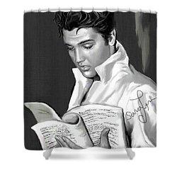 Elvis Presley Art 3 Shower Curtain