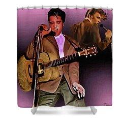 Elvis Presley Art 5 Shower Curtain