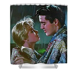 Elvis Presley Art 7 Shower Curtain