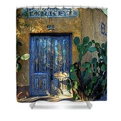 Elysian Grove In The Morning Shower Curtain by Lois Bryan
