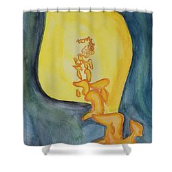Emanation Shower Curtain