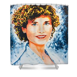 Emanuela Shower Curtain by Victor Minca