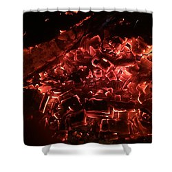 Embers On The Bay Shower Curtain