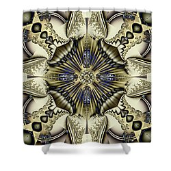 Emblazoned Shower Curtain by Jim Pavelle
